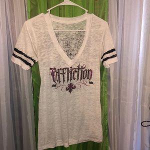Affliction V-Neck Shirt